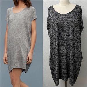 Aritzia Wilfred Free Lorelei T-Shirt Dress Grey